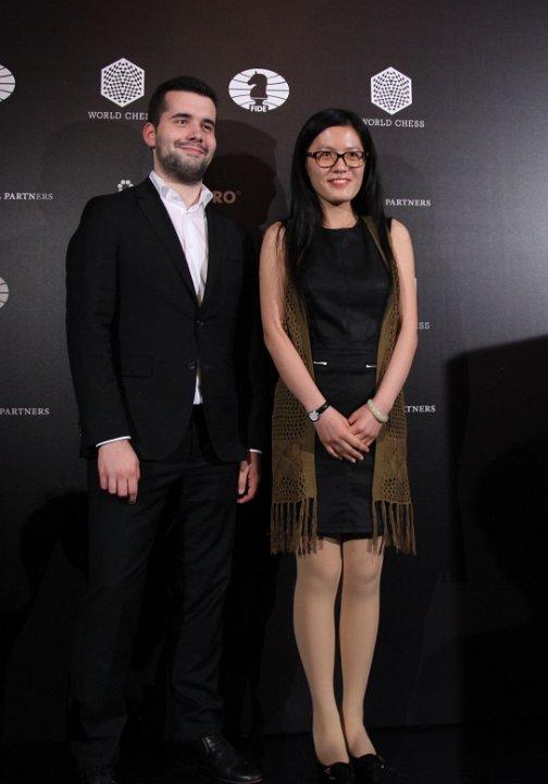 Hou Yifan trakk første stikk under FIDE GP i Moskva