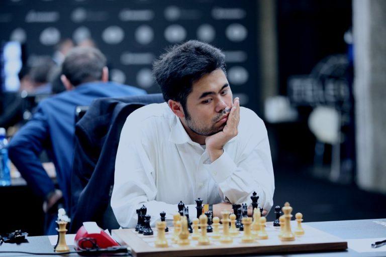 Angrepsspilleren Hikaru Nakamura i FIDE GP