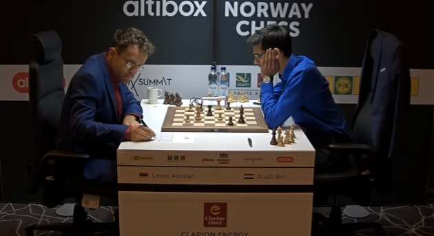 Magnus med tredje strake remisen under Norway Chess 2017