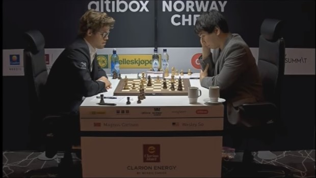 Nakamura trakk første stikk under Norway Chess